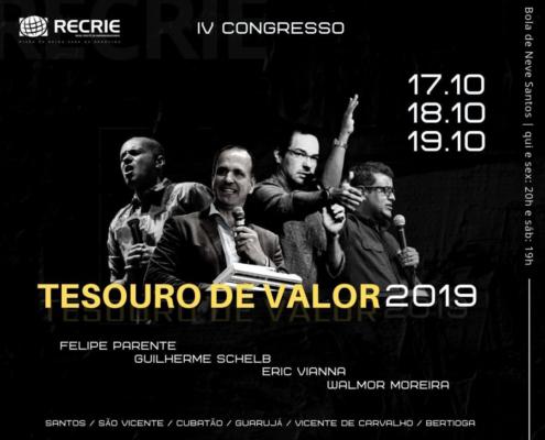 OUTUBRO/2019 - CONGRESSO TESOURO DE VALOR